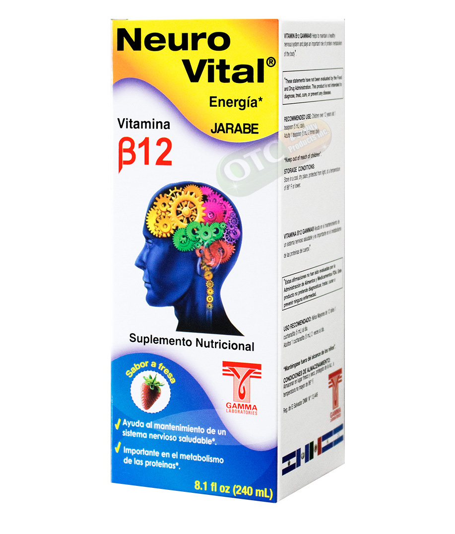 Neuro Vital Syrup 8.1oz | SKU: 1906 |