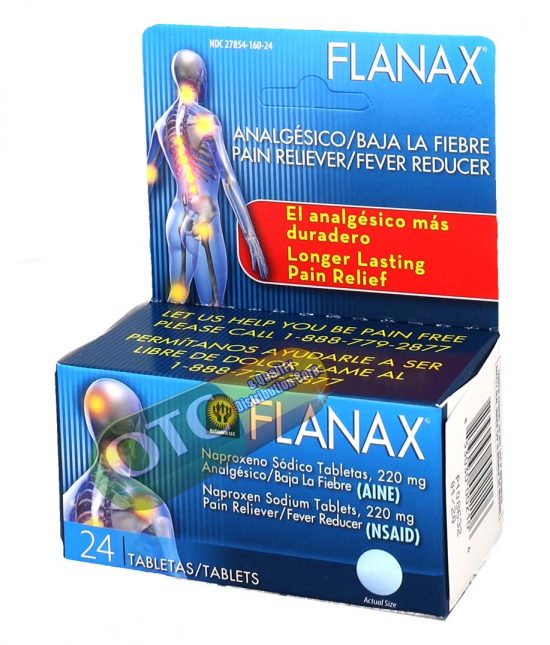 Flanax  X 24 Tabs | SKU: 1220 |