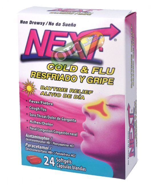 Next Day Cold/Flu Relief x24 | SKU: 1923 |