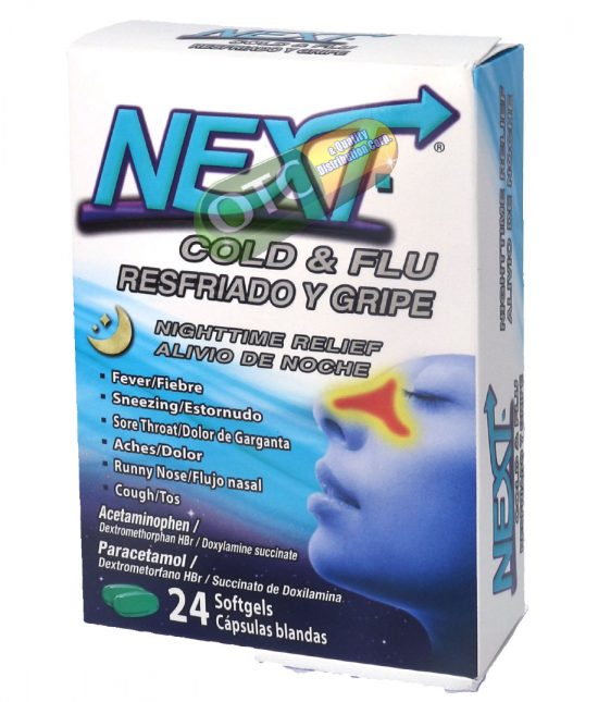 Next Night Cold/Flu Relief x24 | SKU: 1924 |