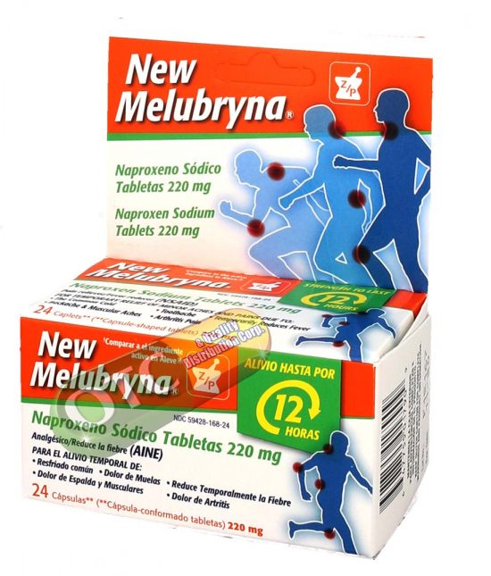 New Melubryna  24 Tabs | SKU: 1372 |