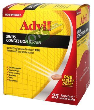 Advil Sinus Congestion x 25 | SKU: 1590 |